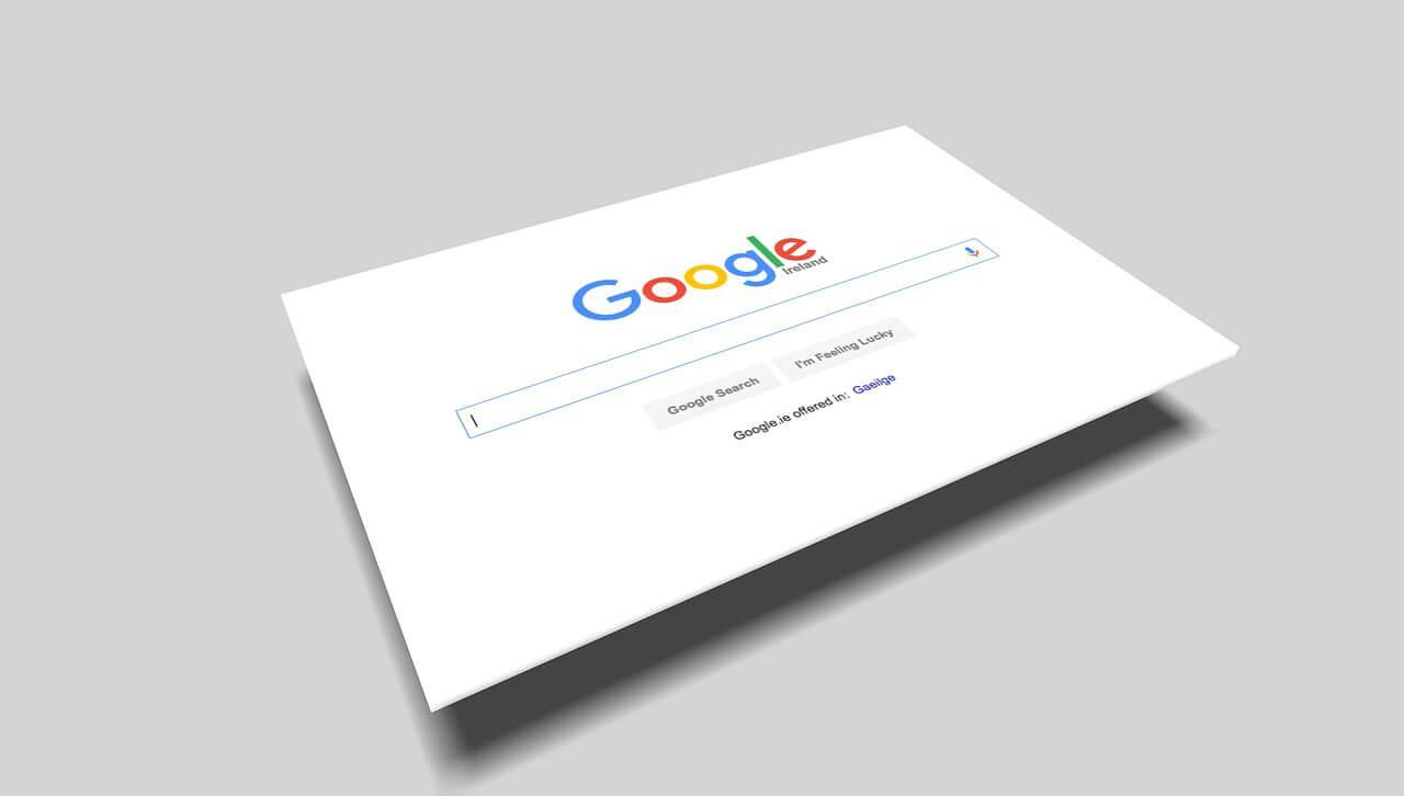 Ricerca di parole chiave sui motori di ricerca come Google